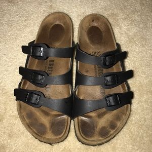 Birkenstock Florida in black